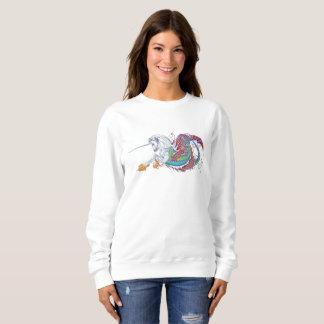 2017 Mink Mode Hippicorn Ladies Sweatshirt 2