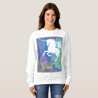 2017 Mink Mode Magical Unicorn Ladies Sweatshirt