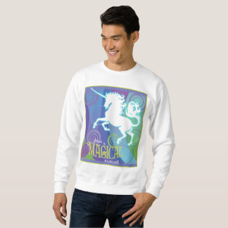 2017 Mink Mode Magical Unicorn Men's Sweatshirt