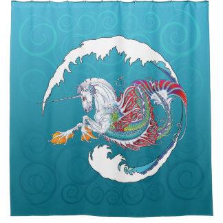 2017 Mink Nest Hippicorn Shower Curtain 5