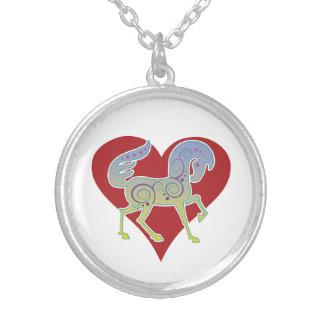 2017 Mink Style Runequine Heart Necklace 1