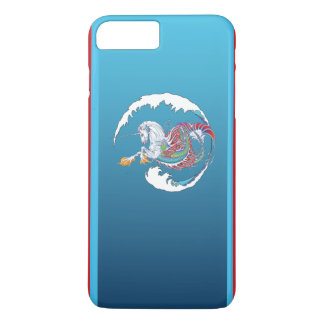 2017 Mink Tech Hippicorn iPhone 7/8 Plus Red Case
