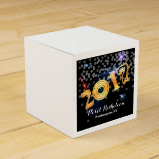 2017 New Year's Eve Celebration Favour Box