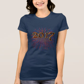 2017 New Years Eve Party Unique Fireworks T-Shirt