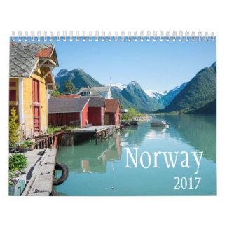 2017 Norway calendar