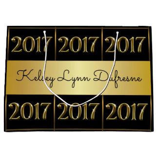 2017 Personalized Graduation Large Gift Bag