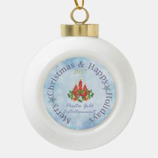 2017 PGE Ceramic Ball Ornament