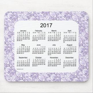 2017 Purple Tiny Bubbles Calendar by Janz Mouse Pad