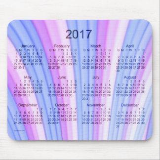 2017 Rainbow Art Calendar by Janz Mouse Pad