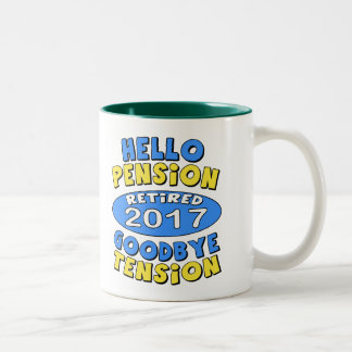 2017 Retirement Two-Tone Coffee Mug
