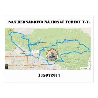 2017 SAN BERNARDINO NATIONAL FOREST T.T. POSTCARD