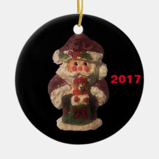 2017 SANTA BEAGLE COLLECTOR XMAS ORNAMENT
