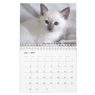 2017 Siamese Royalty Calendar