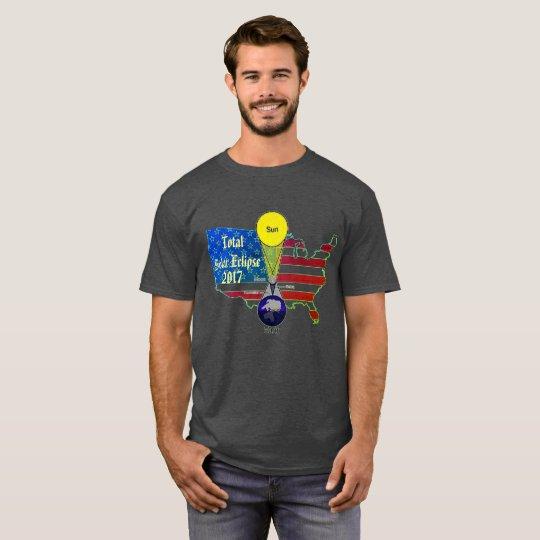 2017 Solar Eclipse Planet Position T-Shirt