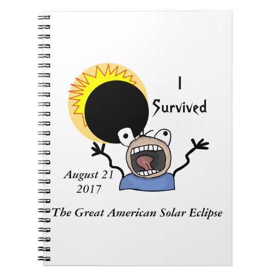 2017 Solar Eclipse Survival Edition Notebooks