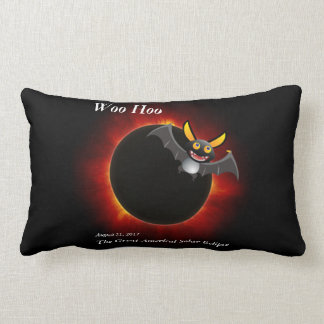 2017 Solar Eclipse, Vampire Edition Lumbar Cushion