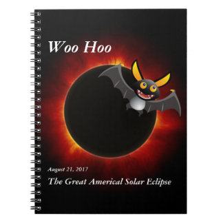 2017 Solar Eclipse, Vampire Edition Notebook