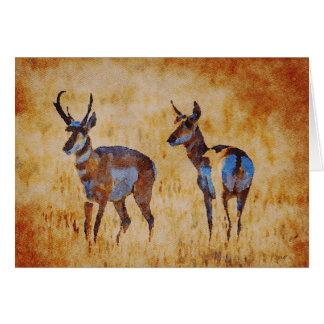 2017 South Dakota Antelope Card