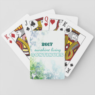 2017-sunshine living continues poker deck