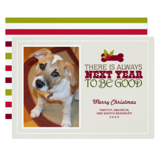 2017 There is Always Next Year | Holiday PhotoCard Card