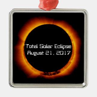 2017 Total Solar Eclipse Christmas Ornament
