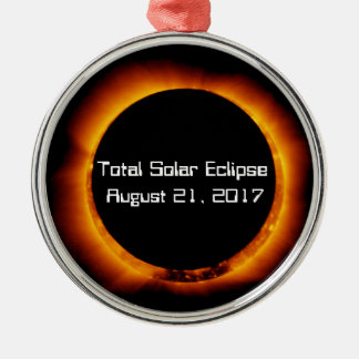 2017 Total Solar Eclipse Christmas Ornament