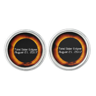 2017 Total Solar Eclipse Cuff Links