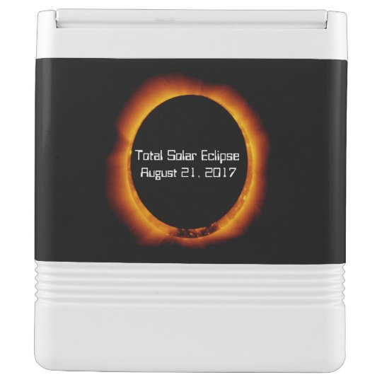 2017 Total Solar Eclipse Igloo Cool Box