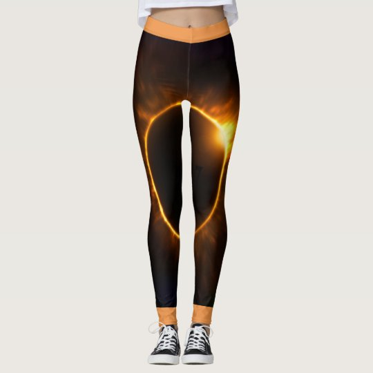 2017 Total Solar Eclipse leggins Leggings