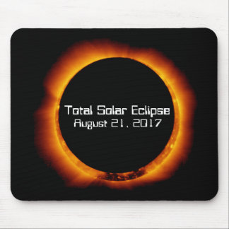2017 Total Solar Eclipse Mouse Mat