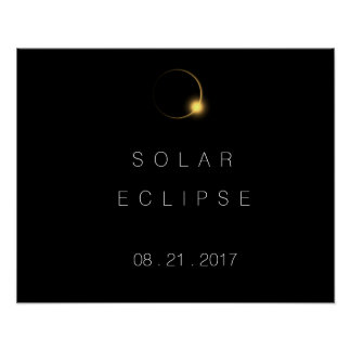 2017 Total Solar Eclipse Poster