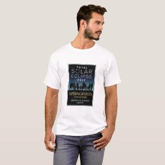2017 Total Solar Eclipse - Springfield, TN T-Shirt