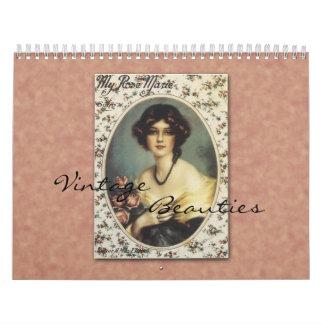 2017 Vintage Beauties Calendar