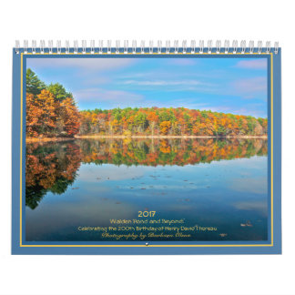 2017 Walden Pond and Beyond: Wall Calendars