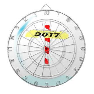 2017 Winter Pole Dartboard