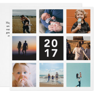 2017 Year in Review Holiday Card