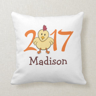 2017 Year of the Rooster Cushion