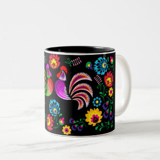 2017 Year of the Rooster Two-Tone Coffee Mug