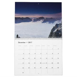 2017 Year Scenic Calendar