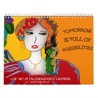 2018  ART OF ENCOURAGEMENT CALENDAR