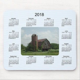 2018 Barn Calendar by Janz Mouse Pad