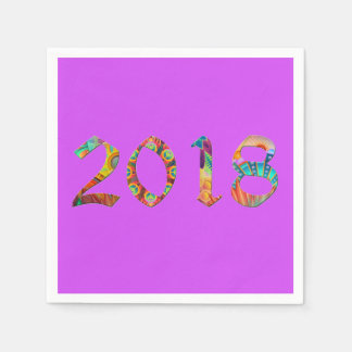2018 bright purple coctail napkins disposable serviette