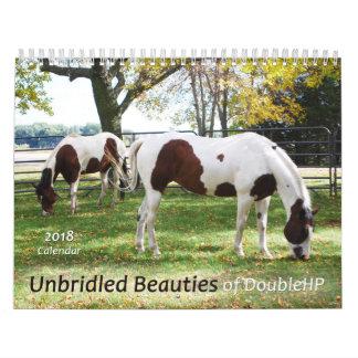 2018 Calendar horse rescue
