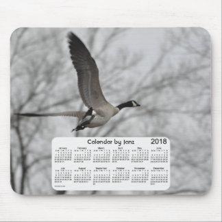2018 Canada Goose Calendar by Janz Mouse Mat