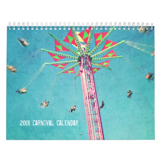 2018 Carnival Calendar of fine art images
