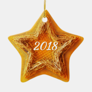 2018 Christmas Star Christmas Ornament