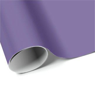 2018 Color of the Year - Ultra Violet Wrapping Wrapping Paper