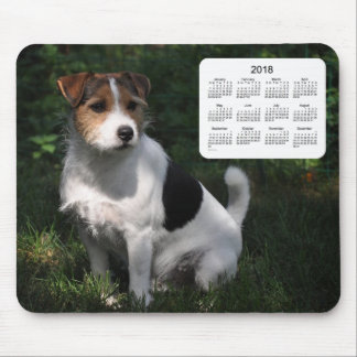 2018 Dog Calendar by Janz Jack Russell Terrier Mouse Mat