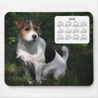 2018 Dog Calendar by Janz Jack Russell Terrier Mouse Mat
