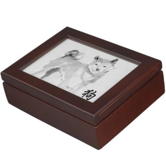 2018 Dog Chinese New Year Symbol Zodiac Keepsake 3 Keepsake Box